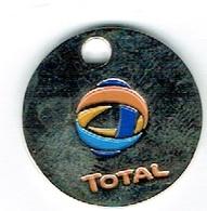 Luxembourg Jeton/Token (Total) Mazout. - Fichas Y Medallas
