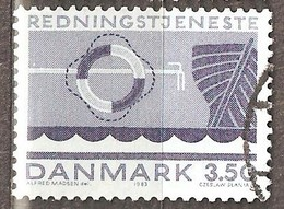 Denmark:  1 Used Stamp From A Set, Life Saving, 1983, Mi#787 - Dänemark