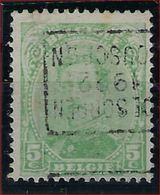 Koning Albert I Nr. 137 (type Niet Nagezien) België Voorafstempeling Nr. 2846 Positie B MOESCROEN 1922 MOUSCRON   ! - Préoblitérés