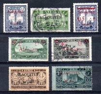 Alaouites Y&T  42°, 43°, T 6°, T 8° (22*, 24° Déf, 41* Offerts) - Alaouites (1923-1930)