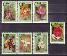 631 - Cuba - 1973 - Flora Flowers - 7v - MNH - Lemberg-Zp - Cuba
