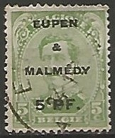 BELGIQUE / EUPEN -MALMEDY N° 1 OBLITERE - [OC55/105] Eupen/Malmedy