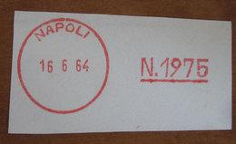 Timbro Italia  1964 Napoli  - Frammento - Seals Of Generality