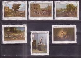 637 - Cuba - 1979 - Paintings - 6v - MNH - Lemberg-Zp - Cuba