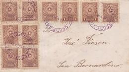 PARAGUAY ENVELOPPE, CIRCULEE DE ASUNCION A SAN BERNARDINO ANNEE 1915 RECOMMANDE -LILHU - Paraguay