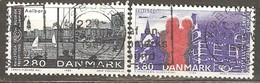 Denmark:  Full Set Of 2 Used Stamps, Nordic Cooperation Issue, 1986, Mi#868-869 - Dänemark