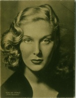 ELSA DE GIORGI ( PESARO ) ACTRESS  - FOTO VENTURINI - EDIZIONE RIZZOLI 1941 (8309) - Célébrités