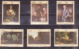 641 - Cuba - 1981 - Paintings - 6v - MNH - Lemberg-Zp - Zonder Classificatie