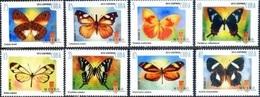 643 - Cuba - 2012 - Butterflies - 8v - MNH - Lemberg-Zp - Zonder Classificatie