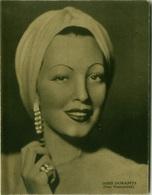 DORIS DURANTI ( LIVORNO )  - ACTRESS  - FOTO VENTURINI - EDIZIONE RIZZOLI 1941 (8312) - Célébrités