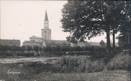 Mitau Jelgava  Елгава Blick Auf Die Stadt (Privatfotokarte) 1930  - Letonia