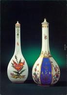 Postkarte Meißen Porzellan-Manufaktur: Gefäße Aus Reißwein, Sakeflaschen 1984 - Meissen