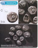 "GREECE - Ancient Coins(480 B.C.), Collector""s Card No 0097, Tirage 4000, 04/11, Dummy Telecard(no Chip, No CN) - Griekenland"