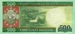 MAURITANIA P. 18 500 O 2013 UNC - Mauritania