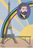 CP Illustrateur Patrick Hamm Levallois-Perret Paris Centenaire Tour Eiffel Bartoldi - Cartes Postales