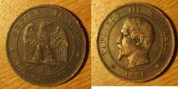 Napoléon III - 10 Centimes 1856A - Frankreich