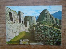 Pérou , Machupicchu , El Torreon Militar Y El Huainapicchu 2700 M.s.m. - Peru