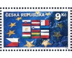 Ref. 145477 * MNH * - CZECH REPUBLIC. 2004. EUROPEAN UNION AMPLIATION . AMPLIACION DE LA UNION EUROPEA - Repubblica Ceca