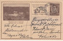 Yugoslavia 1933 Picture Postal Stationery - Pohorje - Entiers Postaux