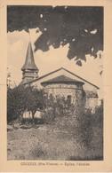 87 - COUZEIX - Eglise, L' Abside - Andere Gemeenten