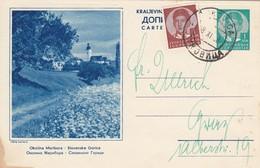 Yugoslavia 19367-38 Picture Postal Stationery - Maribor, Slovenia - Postwaardestukken