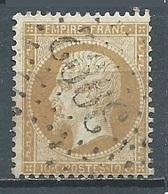 France YT N°21 Napoléon III Oblitéré ° - 1862 Napoléon III