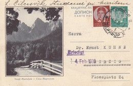 Yugoslavia 19367-38 Picture Postal Stationery - Gozd Martuljek, Slovenia - Postwaardestukken