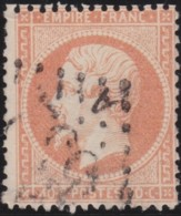 France         .    Yvert       .        23        .       Oblitéré - 1862 Napoléon III