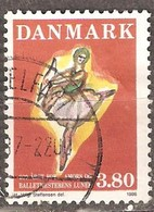 Denmark: Single Used Stamp, 200 Years Of Ballet Premier, 1986, Mi#885 - Dänemark