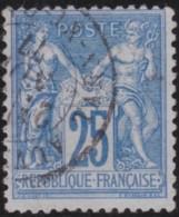 France    .    Yvert  .    79       .       O      .        Oblitéré - 1876-1898 Sage (Type II)