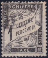 France  .    Yvert     .     Taxe  10     .     O     .    Oblitéré - 1859-1955 Oblitérés