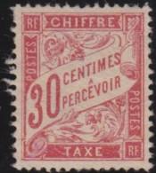 France  .    Yvert     .     Taxe  34  (2 Scans)       .     (*)     .   Pas De Gomme   .  /   .  No Gum - 1859-1955 Neufs