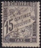 France  .    Yvert     .     Taxe  16       .     O     .     Oblitéré - 1859-1955 Used