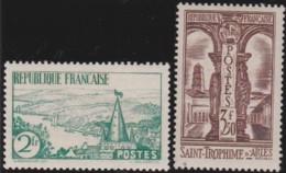 France    .    Yvert     .    301/302      .      *     .    Neuf Avec Charniere   .   /   .   Mint-hinged - France