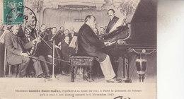 CAMILLE SAINT SAENS    SALLE GOVEAU PARIS - Chanteurs & Musiciens