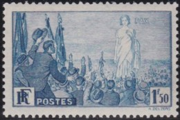 France    .    Yvert     .    328       .      *     .    Neuf Avec Charniere   .   /   .   Mint-hinged - France
