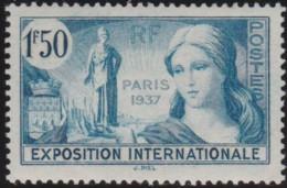 France    .    Yvert     .    336     .      *     .    Neuf Avec Charniere   .   /   .   Mint-hinged - France