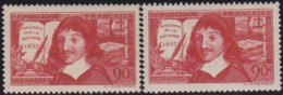 France    .    Yvert     .    341/342       .      *     .    Neuf Avec Charniere   .   /   .   Mint-hinged - France