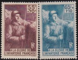 France    .    Yvert     .   386/387     .      ^*     .    Neuf SANS Charniere   .   /   .   MNH - France