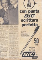 (pagine-pages)PUBBLICITA' BIC  Oggi1957/49. - Livres, BD, Revues