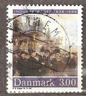 Denmark: Single Used Stamp, 150 Years Of Federation Of Danish Industry, 1988, Mi#924 - Dänemark