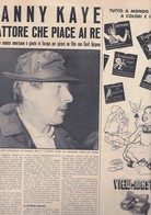 (pagine-pages)DANNY KAYE  Oggi1957/49. - Livres, BD, Revues