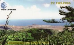 *IS. ST. HELENA: 325CSHB* - Scheda Usata - Sainte-Hélène