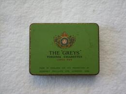 """Boite De Cigarette The """"greys""""; Virginia. - Contenitori Di Tabacco (vuoti)"""