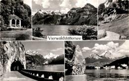 Vierwaldstättersee - 5 Bilder * 22. 6. 1964 - UR Uri