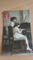 CP - LECON DE PIANO - Cartes Postales