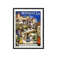 Timbre N° 1400 Neuf ** - Noël. Crèche Provençale. Santons Et Village De Provence. - Monaco
