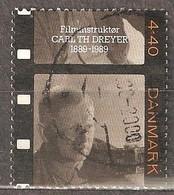 Denmark: 1 Used Stamp From A Set, 50 Years Of Danish Film Office, 1989, Mi#959 - Dänemark