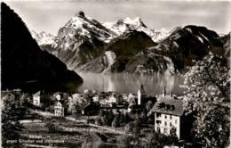 Sisikon Gegen Gitschen Und Urirotstock (7845) * 24. 4. 1947 - UR Uri