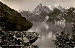 Vierwaldstättersee - Sisikon Mit Gitschen Und Urirotstock (5463) - UR Uri